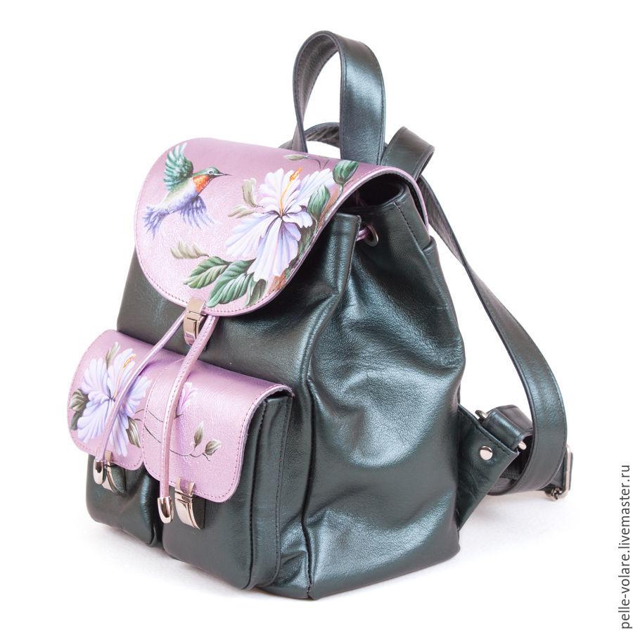 53ca613fbce7 Рюкзаки ручной работы. Женский рюкзак