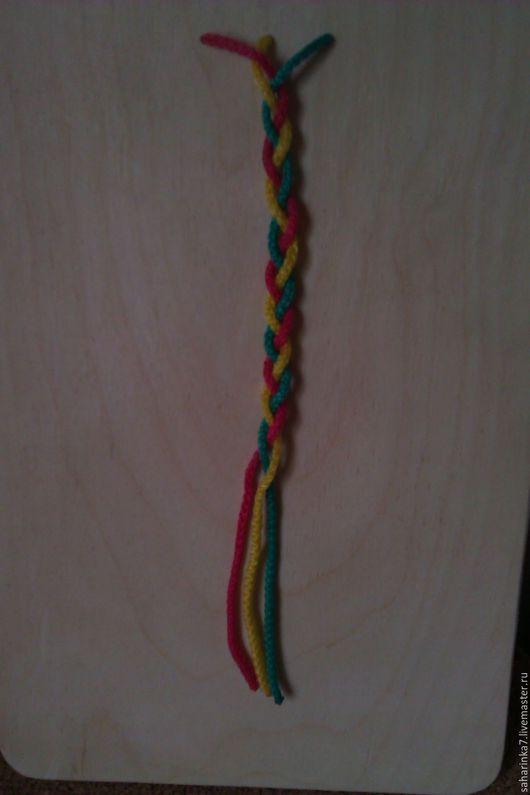 Развивающие игрушки ручной работы. Ярмарка Мастеров - ручная работа. Купить доска для плетения косичек. Handmade. Мелкая моторика, комбинированный