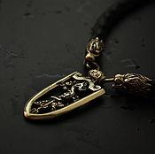 Украшения handmade. Livemaster - original item Nordic pendant amulet Dragon. Handmade.