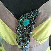 Украшения handmade. Livemaster - original item Brooch with pendants. Handmade.