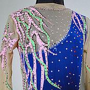 Одежда ручной работы. Ярмарка Мастеров - ручная работа Купальник (костюм для выступлений) для художественной гимнастики. Handmade.