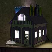 handmade. Livemaster - original item Lamp-House. Handmade.