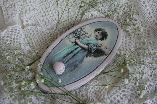 """Прихожая ручной работы. Ярмарка Мастеров - ручная работа. Купить вешалка """"Angel"""". Handmade. Вешалка, дерево"""