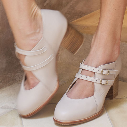 Обувь ручной работы. Ярмарка Мастеров - ручная работа. Купить Skylight. Винтажные кожаные туфли для весны и осени.. Handmade. мода