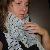 """Аксессуары ручной работы. Ярмарка Мастеров - ручная работа Супер-длинный шарф """"Городской"""". Handmade."""