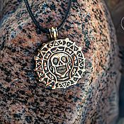 Украшения handmade. Livemaster - original item Medallion (pendant)