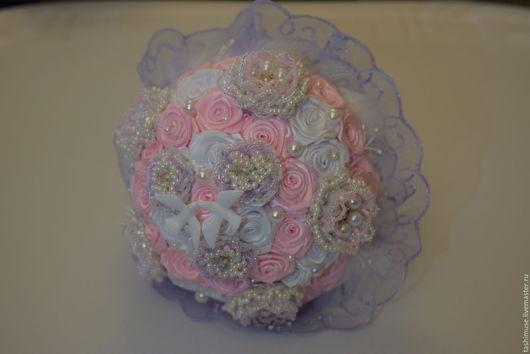 Свадебные цветы ручной работы. Ярмарка Мастеров - ручная работа. Купить Букет для невесты. Handmade. Свадьба, белый
