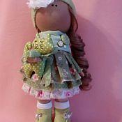 Куклы и игрушки ручной работы. Ярмарка Мастеров - ручная работа Интерьерная текстильная кукла большеножка Алиса. Handmade.