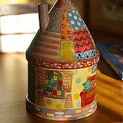 """Для дома и интерьера ручной работы. Ярмарка Мастеров - ручная работа Шкатулка- домик """" По секрету..."""". Handmade."""