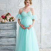 Одежда handmade. Livemaster - original item Bustier dress with a tulle Tiffany skirt. Handmade.