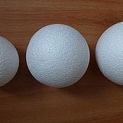 Корзины ручной работы. Ярмарка Мастеров - ручная работа Шар пенопластовый,размер от 5 см до 15 см. Handmade.