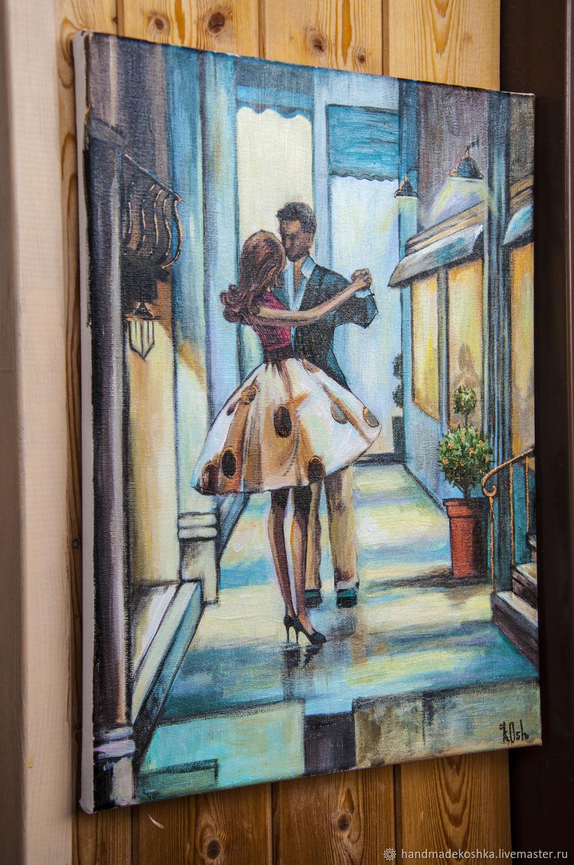 """Картина """"Двое в Париже"""", Картины, Санкт-Петербург,  Фото №1"""