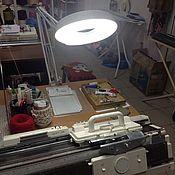 Инструменты для вязания ручной работы. Ярмарка Мастеров - ручная работа Лампа-лупа. Handmade.