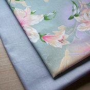 Материалы для творчества handmade. Livemaster - original item Fabric: Set for creativity No. №7 Lilies. Handmade.