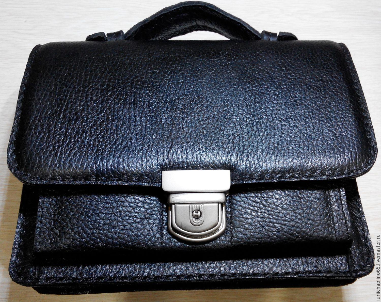 046b5ecfca19 Мужские сумки ручной работы. Ярмарка Мастеров - ручная работа. Купить Сумка  из натуральной кожи ...