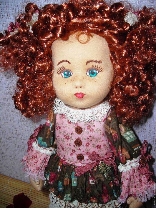 Коллекционные куклы ручной работы. Ярмарка Мастеров - ручная работа. Купить Милая Агнешка. Handmade. Комбинированный, кукла интерьерная, сливер