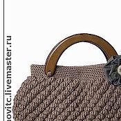Сумки и аксессуары ручной работы. Ярмарка Мастеров - ручная работа вязаная сумка. Handmade.