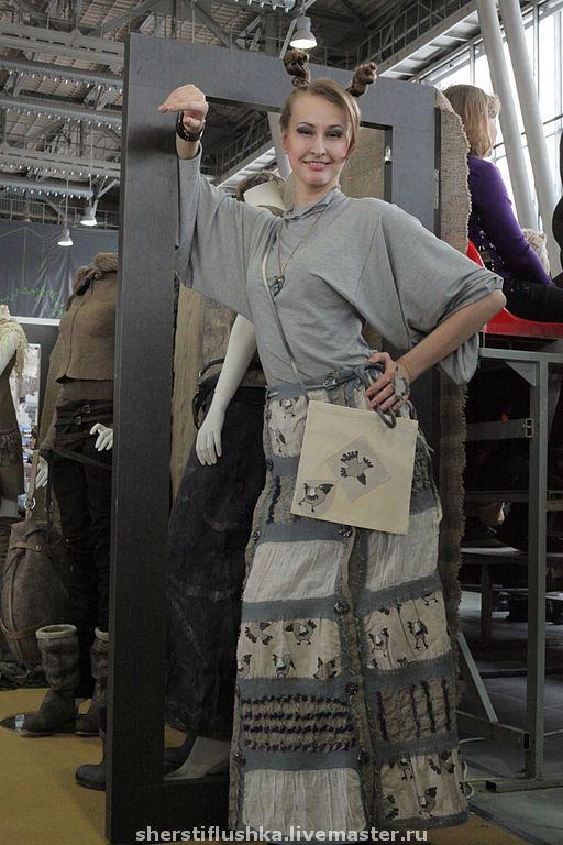 """Платья ручной работы. Ярмарка Мастеров - ручная работа. Купить Сарафан-транформер """"Удачливая ворона"""". Handmade. Коллекционное платье"""