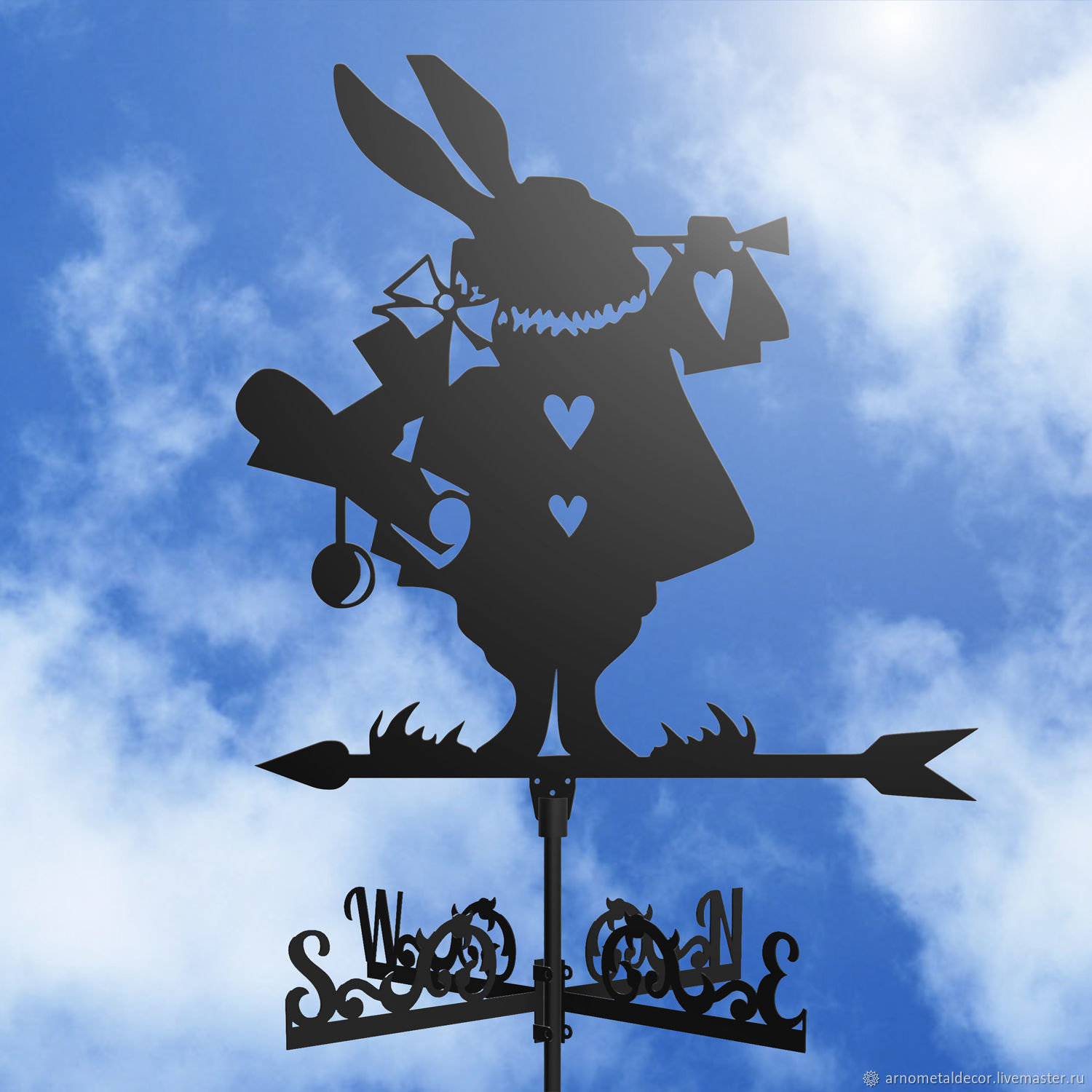 Weather vane on the roof ' Rabbit', Vane, Ivanovo,  Фото №1