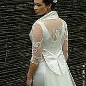 Одежда ручной работы. Ярмарка Мастеров - ручная работа Свадебное платье (комплект из жакета и платья). Handmade.