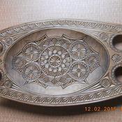 Для дома и интерьера ручной работы. Ярмарка Мастеров - ручная работа тарелка декоративная,деревянная. Handmade.