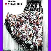 Одежда ручной работы. Ярмарка Мастеров - ручная работа Юбка Бохо с Шарфиком - 84. Handmade.