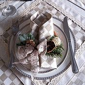 Для дома и интерьера handmade. Livemaster - original item Set table linen tablecloths and napkins Vintage. Handmade.