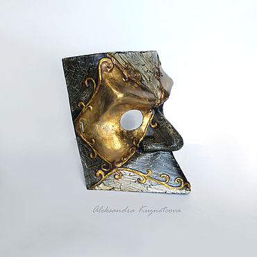 """Для дома и интерьера ручной работы. Ярмарка Мастеров - ручная работа Маска Баута: """"Синьор"""". Handmade."""