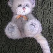 Куклы и игрушки ручной работы. Ярмарка Мастеров - ручная работа котик Кысь. Нашел дом.. Handmade.