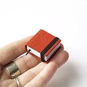 Канцелярские товары ручной работы. Ярмарка Мастеров - ручная работа Крошечный блокнотик. Handmade.