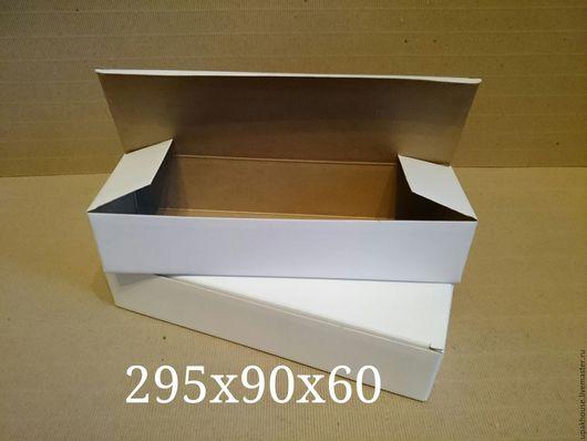 Упаковка ручной работы. Ярмарка Мастеров - ручная работа. Купить узкая коробка из гофрокартона. Handmade. Простая упаковка, коробка для хранения