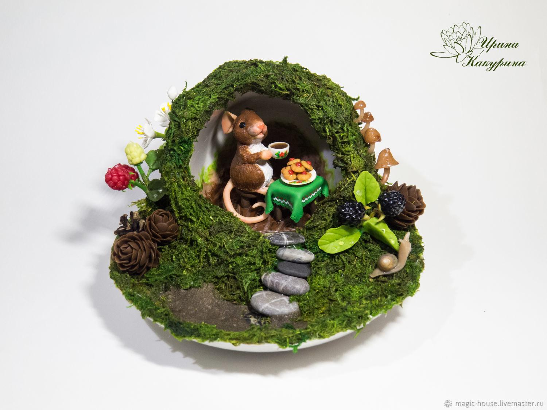 Мышкино чаепитие, Кукольные домики, Курск, Фото №1