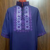 Мужская одежда handmade. Livemaster - original item Men`s embroidered shirt