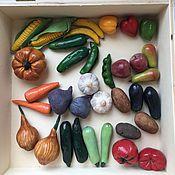 Сувениры и подарки ручной работы. Ярмарка Мастеров - ручная работа Овощи и фрукты ручной работы. Handmade.