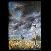 """Картины и панно ручной работы. Ярмарка Мастеров - ручная работа Коллекционная  картина """"Тропа гроз"""". Handmade."""