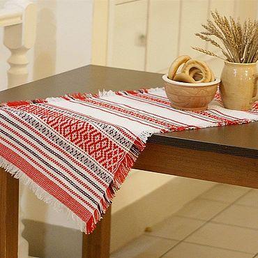Для дома и интерьера handmade. Livemaster - original item The path on the table in the Russian style handmade. Handmade.