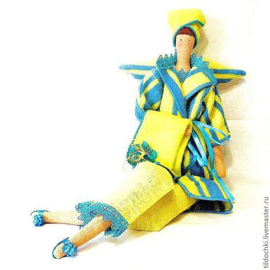 Куклы Тильды ручной работы. Ярмарка Мастеров - ручная работа. Купить Кукла Эвелина -  фея ванной комнаты. Handmade.