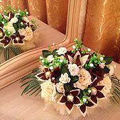 """Подарки к праздникам ручной работы. Ярмарка Мастеров - ручная работа Букет из конфет """"Шоколадная коллекция"""". Handmade."""