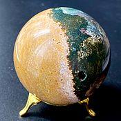 Фен-шуй и эзотерика handmade. Livemaster - original item Oceanic jasper, 72 mm ball, Madagascar. Handmade.