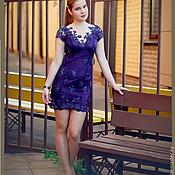 Одежда handmade. Livemaster - original item Lace short dress