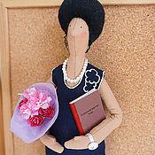 Куклы и игрушки ручной работы. Ярмарка Мастеров - ручная работа Любимая учительница 3. Портретная кукла. Handmade.