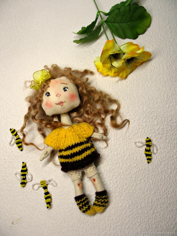 """Кукла """"пчелка"""", Куклы и пупсы, Рыбинск,  Фото №1"""