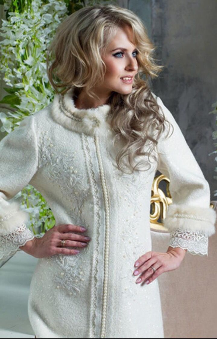42896cd7ab5 Верхняя одежда ручной работы. Ярмарка Мастеров - ручная работа. Купить  Пальто белое!