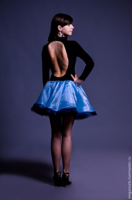 """Танцевальные костюмы ручной работы. Ярмарка Мастеров - ручная работа. Купить Платье для бальных танцев (латина) """"Elegance Style"""". Handmade."""
