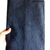 Канцелярские товары ручной работы. Ярмарка Мастеров - ручная работа Папка для бумаг А4 из кожи. Handmade.