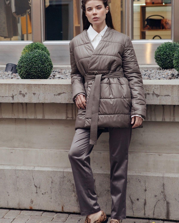 Shortened coat with Autumn insulation, Coats, Moscow,  Фото №1