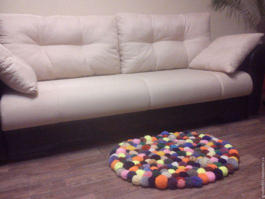 Текстиль, ковры ручной работы. Ярмарка Мастеров - ручная работа. Купить Коврик. Handmade. Комбинированный, ковер, на заказ