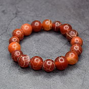 Украшения handmade. Livemaster - original item Natural African agate bracelet. Handmade.