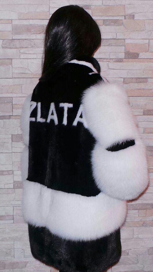 """Верхняя одежда ручной работы. Ярмарка Мастеров - ручная работа. Купить Шуба норковая """"ZLATA"""". Handmade. Шуба, мех норки"""