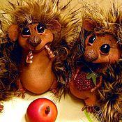 Куклы и игрушки ручной работы. Ярмарка Мастеров - ручная работа Ежик. Handmade.